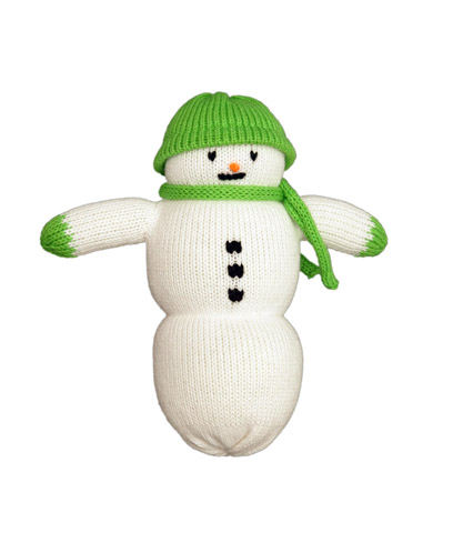 Green Hat Snowman Pal